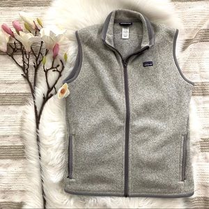 PATAGONIA ▪️Better Sweater Vest. Light grey. L